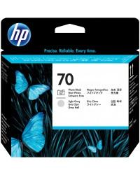 HP 70 Photo Black & Light Grey Printhead  C9407A