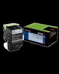 Lexmark 808SC Cyan Toner Cartridge 80C80C0