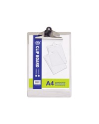 Acrylic Clip Boards A4 Grey