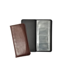 Business Card Holder Brown Color
