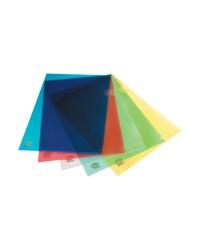 Clear Folders A4 (210 x 297 mm) Blue