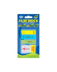 Imprinted Film Indexes 2 x 12 x 45 mm 1 x 25 x 45 mm
