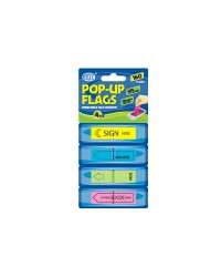 Imprinted Pop-Up Flags 12 x 45 mm