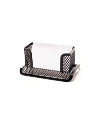 Metal Mesh Business Card Holder Black