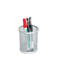 Metal Mesh Pen Holders Grey