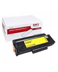 OKI 01290801 Black Toner Cartridge for Fax170
