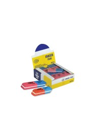 Blue & Red Erasers