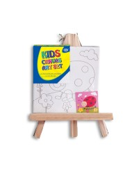 Canvas with Easel Set 15 x 15 cm