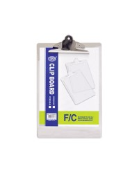 Acrylic Clip Boards F/S,Light Blue