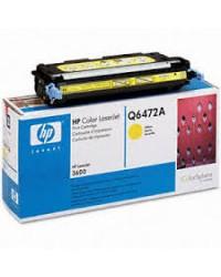 HP Q6472A Yellow Toner