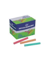 Dustless Color Chalks 100 Pcs