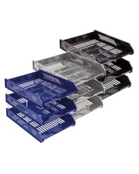File Trays Blue