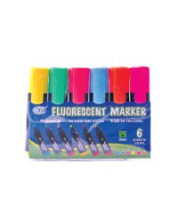 Fluorescent Markers Assorted Colors
