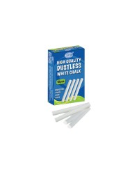 High Quality Dustless White Chalks 10 Pcs. White Chalks