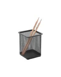 Metal Mesh Pen Holders Black